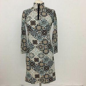 J. MCLAUGHLIN Bedford Dress Catalina Cloth Zip S
